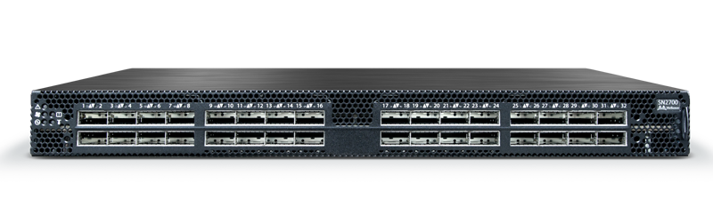 Mellanox MSN2700-CS2F Spectrum 100GbE 1U Open Switch